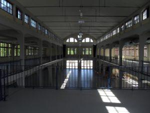 Bogenbinderhalle Innen