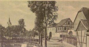 Foto: Schmirchau Dorfteich - Stadtarchiv