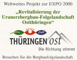 LOGO des externen Projektes der EXPO 2000 Hannover