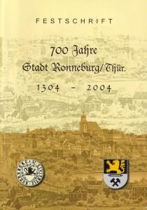 Broschüre zum Stadtjubiläum