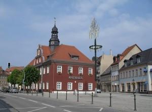 Rathaus Ronneburg Foto: Stadtarchiv Ronneburg